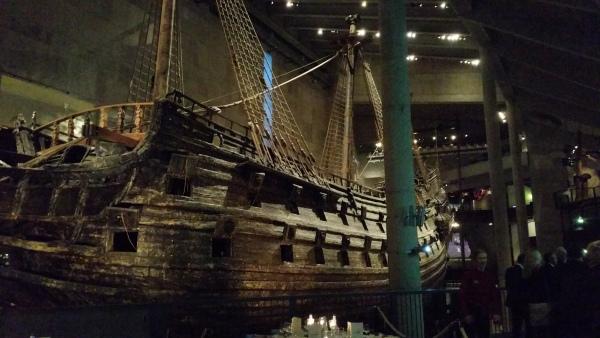 Le vaisseau Vasa 2 années de construction, 20 minutes sur les flots avant de couler