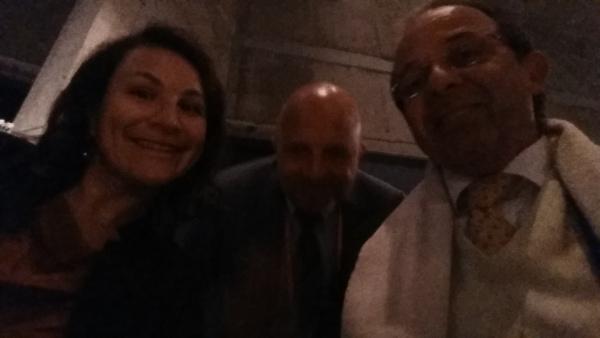 Les Drs Gil Alcoforado, Marc Quyrinen et moi