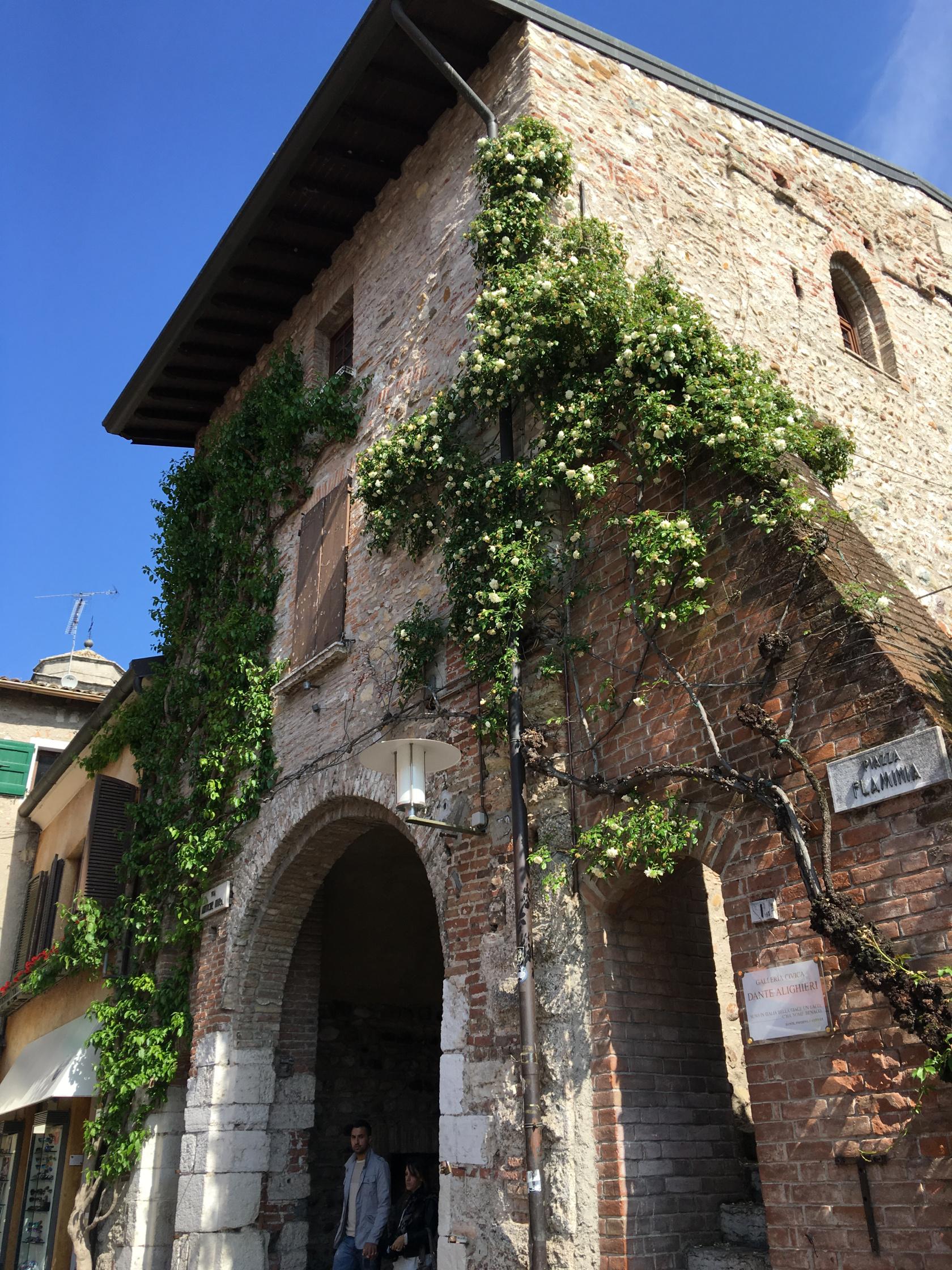 Entrée de la Piazza Flaminia